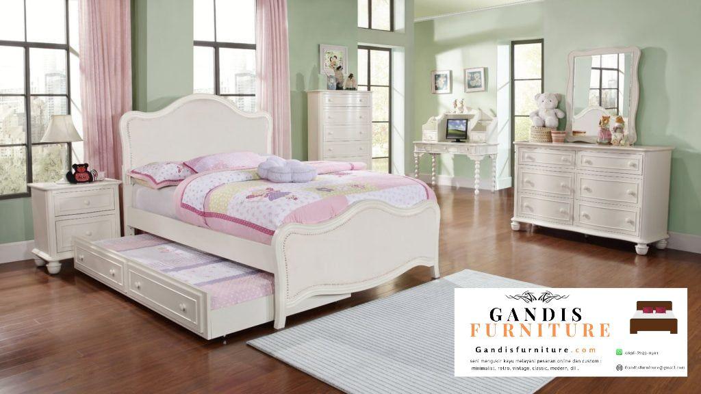 Jual set Kamar Tidur Anak - - Gandis Furniture Jepara