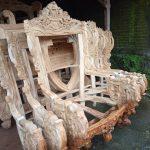 Kursi tamu mewah kayu jati asli jepara