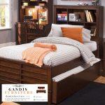 tempat tidur minimalis kayu jati