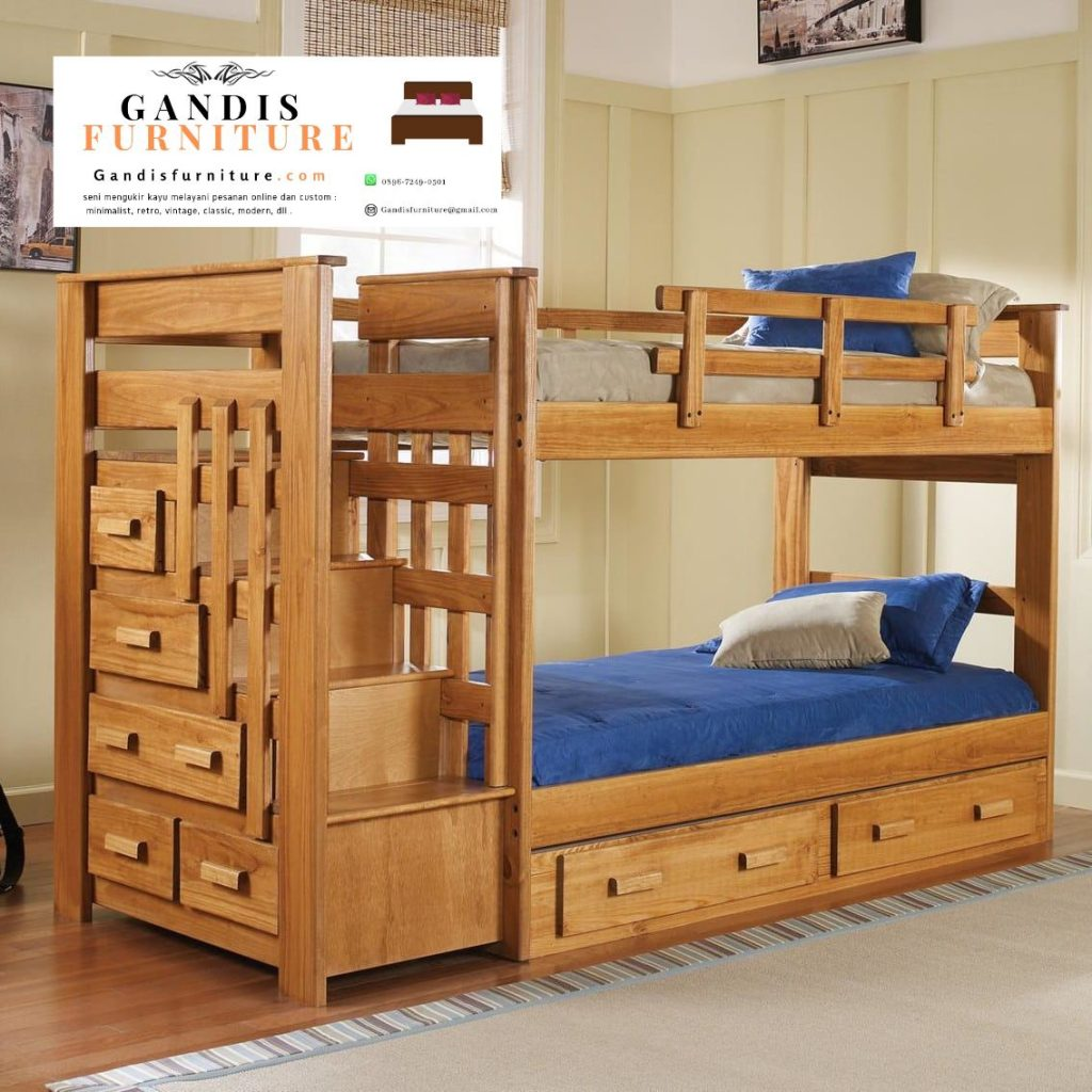 set tempat tidur tingkat minimalis murah
