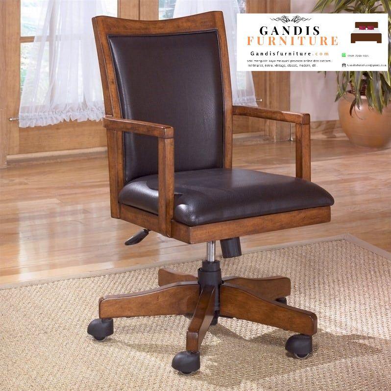 Gandis furniture menyediakan berbagai macam kursi kantor jati hidrolik dengan kualitas terbaik dikerjakan oleh ahlinya hubungi 0896-7249-0501