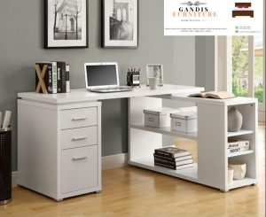 Meja kantor minimalis duco