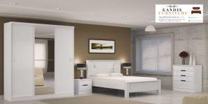set kamar minimalis duco putih