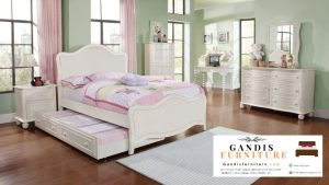 set kamar tidur permpuan minimalis