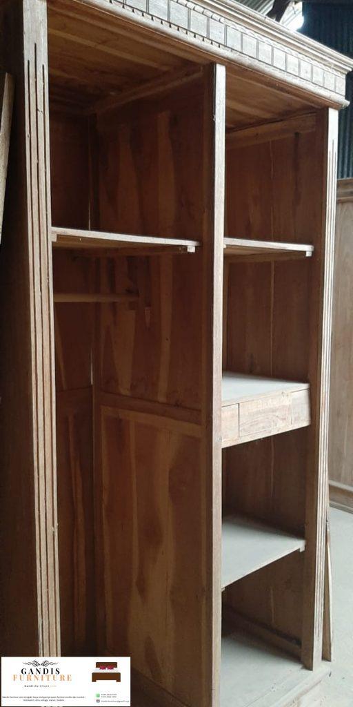 lemari pakaian 2 pintu minimalis