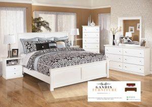 kamar set putih minimalis