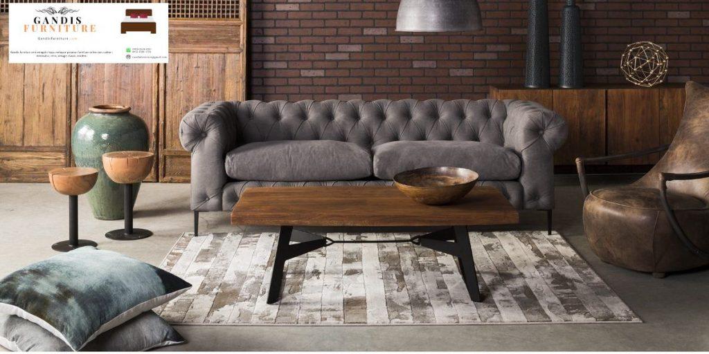 set sofa tamu minimalis classic scandinavian