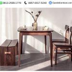 meja makan minimalis classic murah