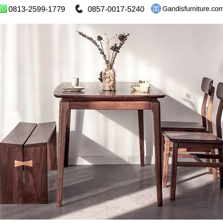 meja makan minimalis classic