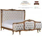 tempat tidur mewah sofa modern
