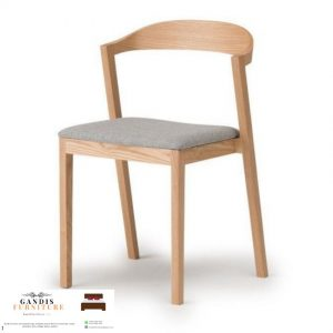 kursi cafe modern kayu jati