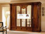 lemari pakaian kayu jati mewah 5 pintu