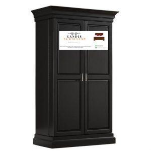 jual lemari pakaian kayu 2 pintu murah