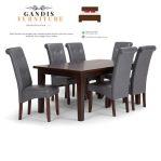 1 set meja makan minimalis