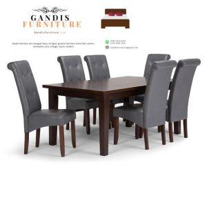 1 set kursi makan minimalis