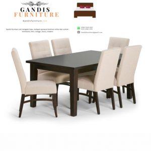 Meja makan minimalis modern model terbaru