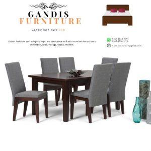 Set meja makan minimalis terlaris