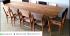 set kursi cafe 10 panjang kayu jati