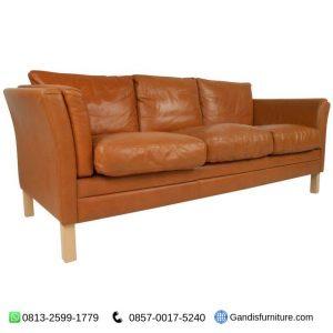 sofa jati retro 3 seater
