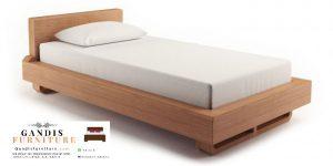 Dipan minimalis kayu jati solid jepara