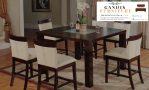meja makan minimalis 6 kursi kayu jati