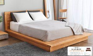 dipan minimalis natural   tempat tidur minimalis sederhana