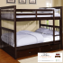 tempat tidur tingkat anak minimalis jati