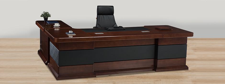 meja kantor kayu jati jepara