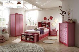 set tempat tidur karakter anak