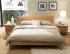 tempat tidur mahoni minimalis