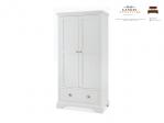 lemari pakaian 2 pintu duco putih