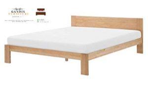 tempat tidur kayu jati minimalis