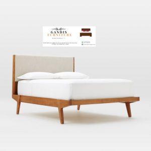 tempat tidur kayu sederhana minimalis