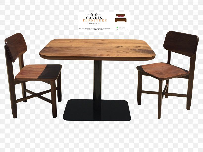 set kursi cafe kayu