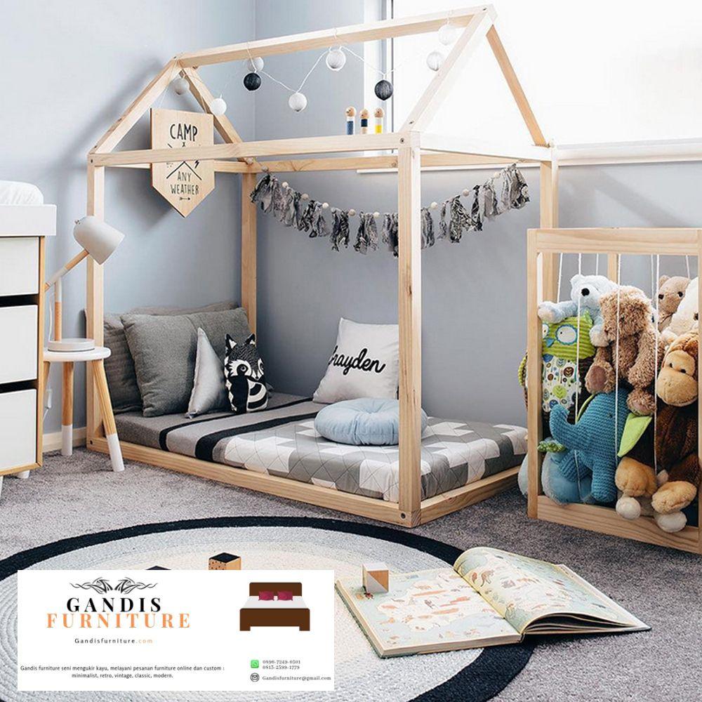 Tempat Tidur Bayi Montessori Jepara Box Bayi Berkualitas Gandis Furniture Jepara Tempat tidur bayi unik