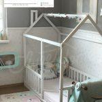 tempat tidur bayi montessori