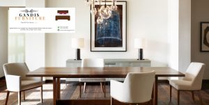 meja makan minimalis mur