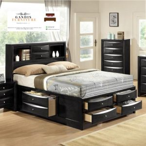 tempat tidur laci modern jepara