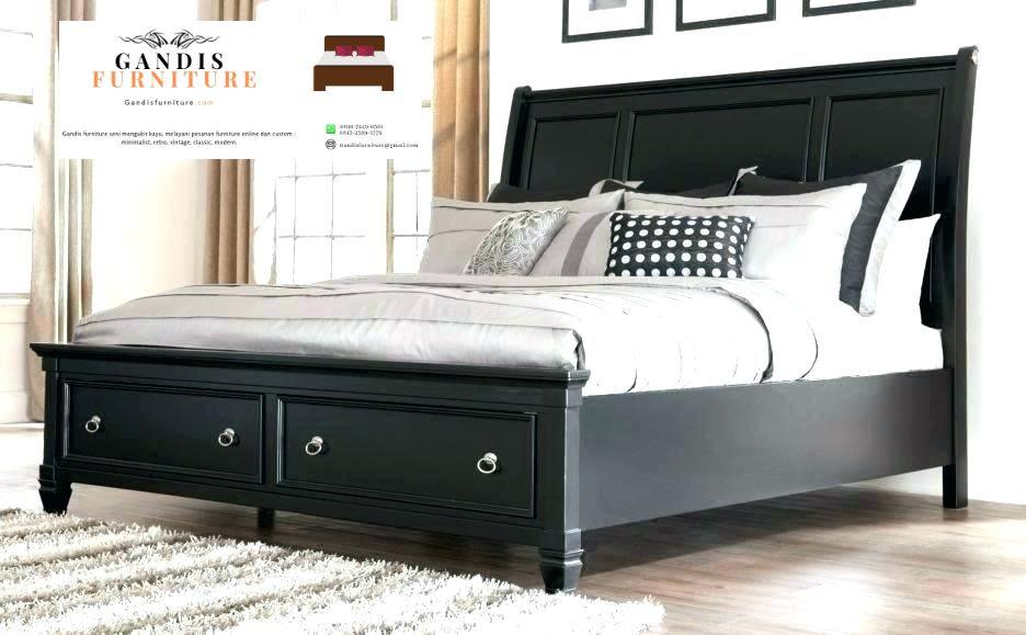 tempat tidur laci minimalis murah