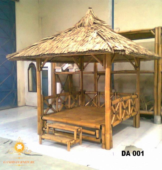 gazebo dari bambu