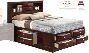 tempat tidur laci murah