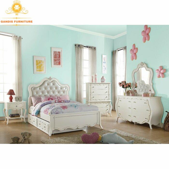 Jual Set Kamar Tidur Anak Terbaru Set Tempat Tidur Anak Murah Gandis Furniture Jepara