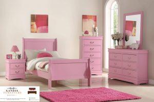 set kamar tidur anak perempuan terbaru