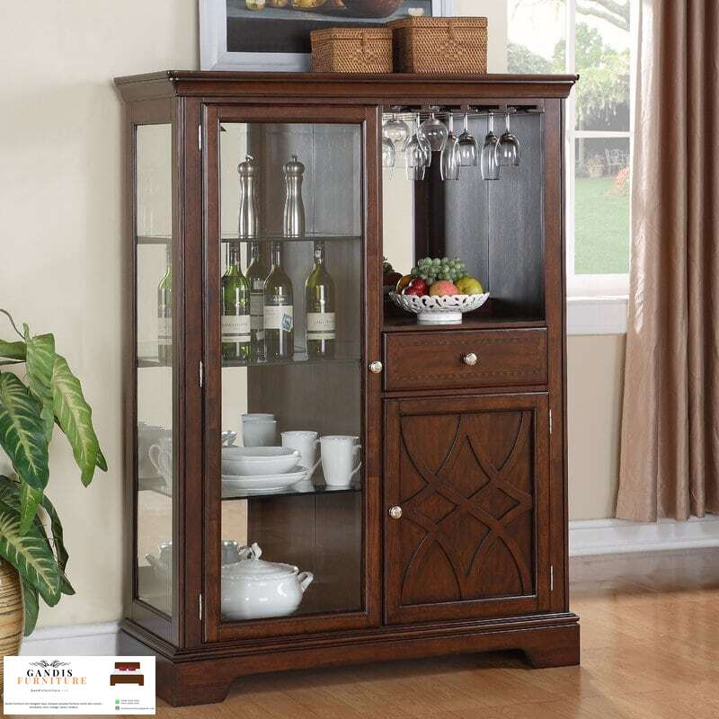 lemari dapur kayu jati klasik