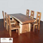 jual meja trembesi murah kayu utuh