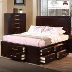 tempat tidur minimalis laci murah