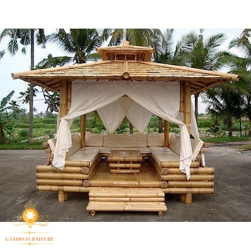 gazeb bambu murah