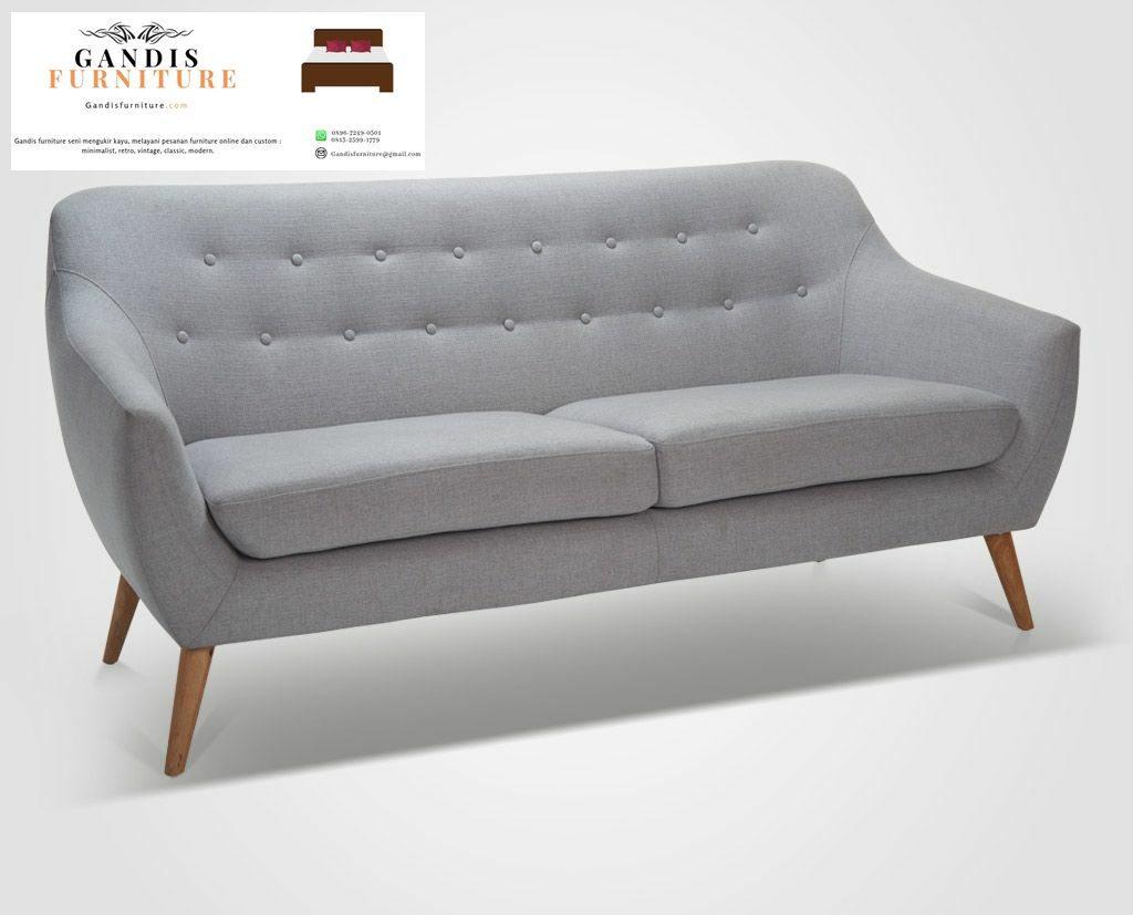 sofa tamu minimalis scandinavian terbaru