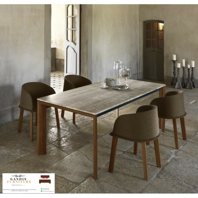 meja makan minimalis