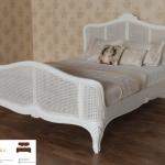 tempat tidur rotan asli jepara